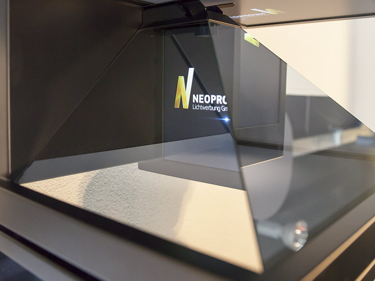 Neoprop Digital Signage Hologram Screen Dreamoc