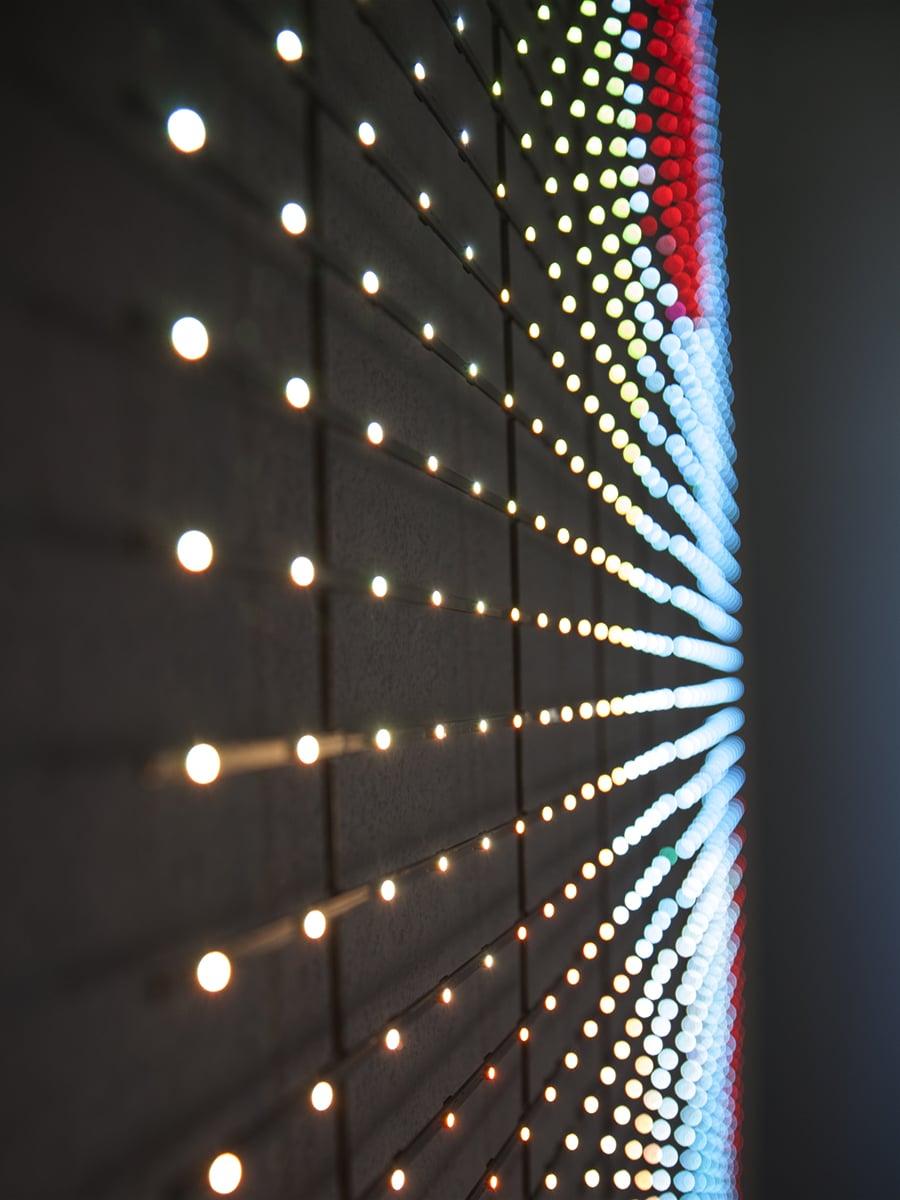 Neoprop Raumgestaltung LED Vorhang