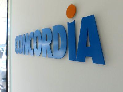 Neoprop Innenbeschriftung Flachschrift Concordia