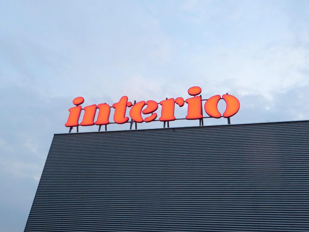Neoprop Lichtwerbung Einzelbuchstaben interio