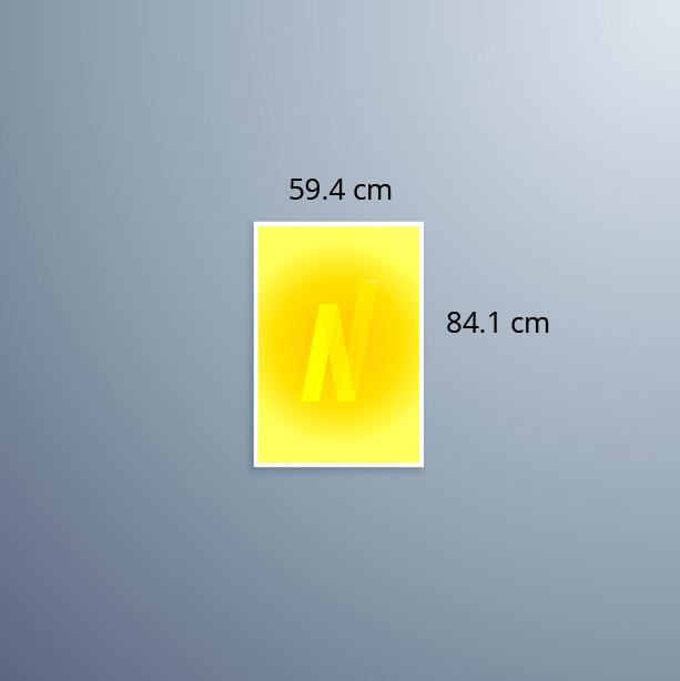 Neoprop LED-Spanntuchrahmen A1