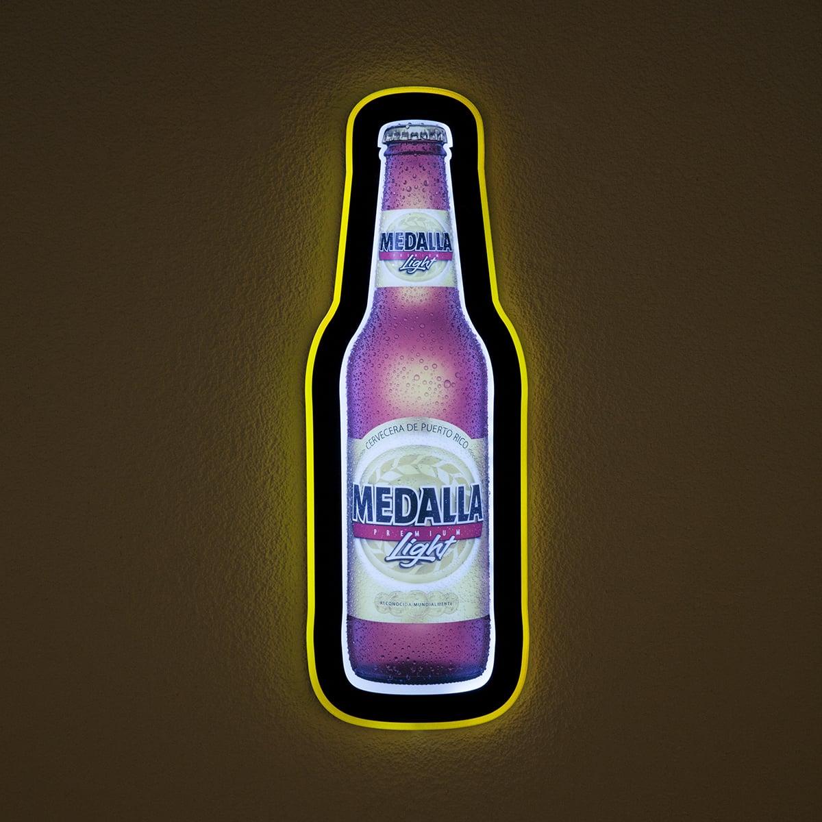 Neoprop LED-Schilder Medalla