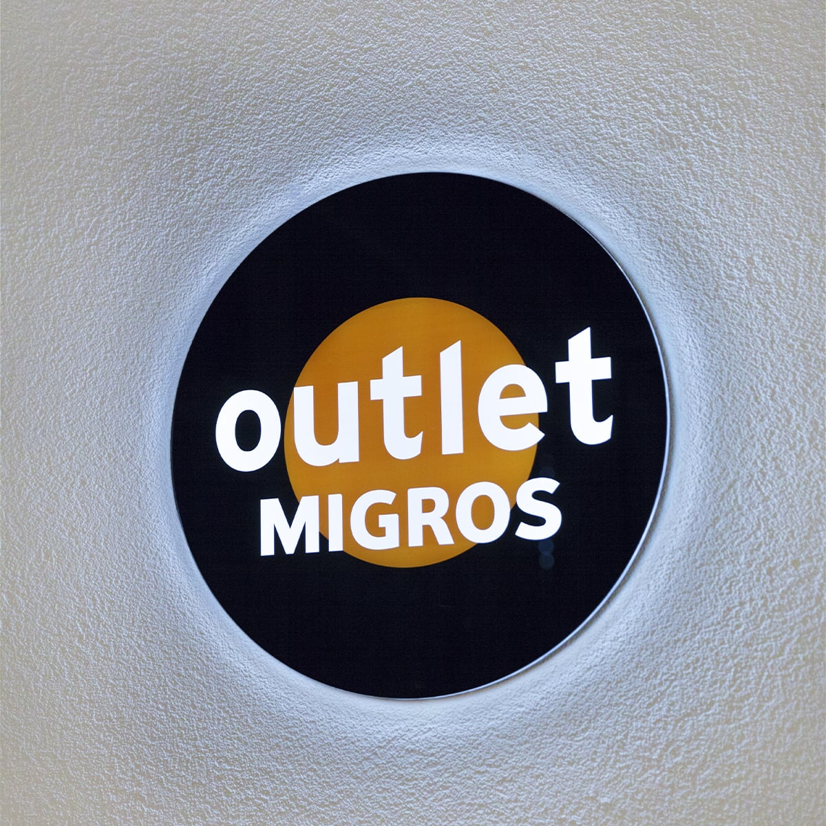 Neoprop LED-Schilder Migros outlet