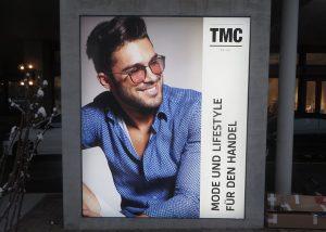 Neoprop LED-Spanntuchrahmen TMC Zürich