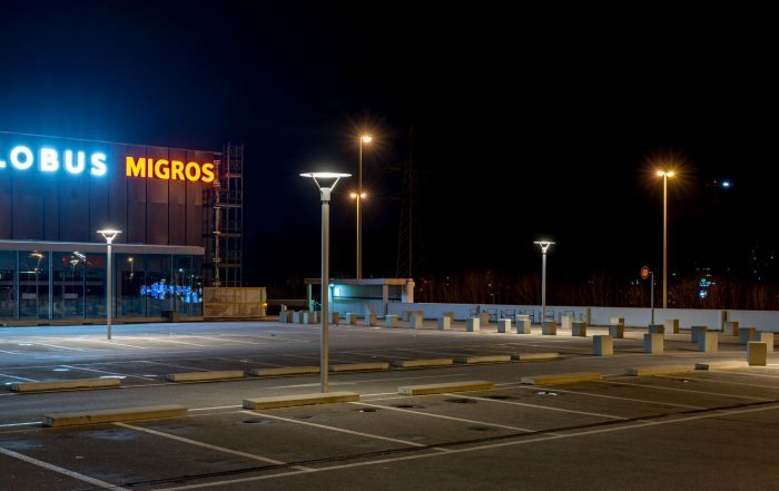 Neoprop Aussenbeleuchtung Reportage Migros