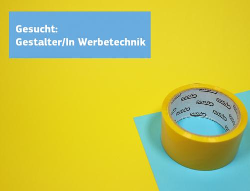 Gestalter/In Werbetechnik
